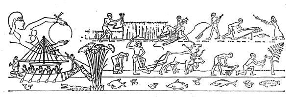 Речное земледелие для древнего египта